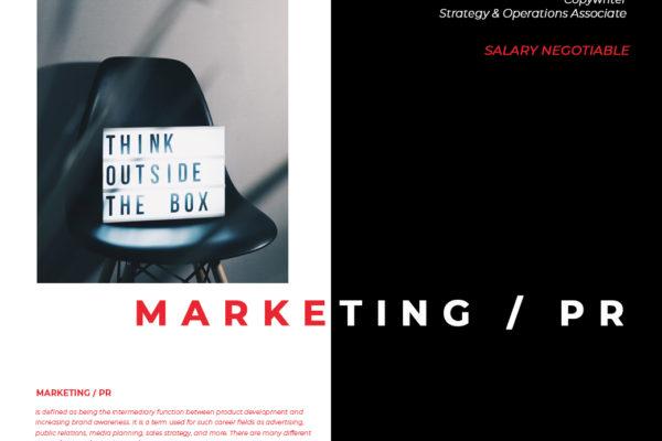 หางาน Marketing / PR